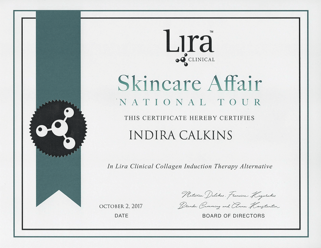 Lira Clinical Collagen Induction Therapy Alternative Training Certification