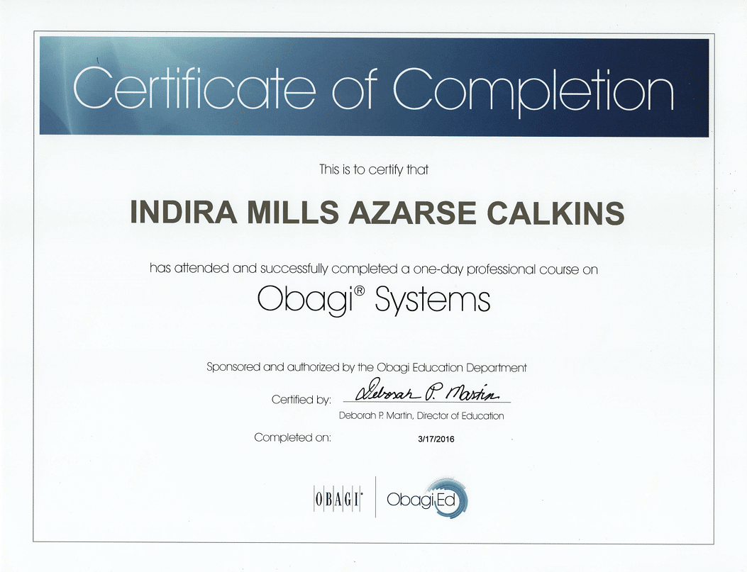 Obagi Systems Professional Skincare Training Course