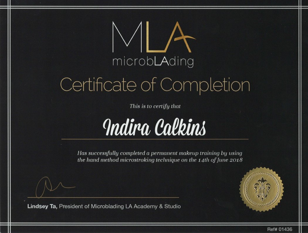 MLA microblading Advanced Microblading Training