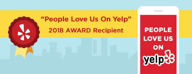 Yelp D Modern Beauty 2018 Award