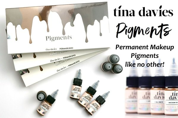 DModern Beauty Proudly Uses Tina Davies Microblading Pigments