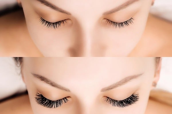 volume lash extensions procedure